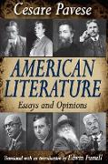 Cover-Bild zu American Literature (eBook) von Pavese, Cesare