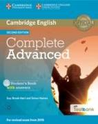 Cover-Bild zu Complete Advanced Student's Book with Answers with CD-ROM with Testbank von Brook-Hart, Guy