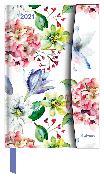 Cover-Bild zu Flower Fantasy 2021 - Diary - Buchkalender - Taschenkalender - 10x15