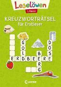 Cover-Bild zu Loewe Erstlesebücher (Hrsg.): Leselöwen Kreuzworträtsel für Erstleser - 1. Klasse (Hellgrün)