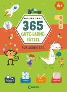 Cover-Bild zu Loewe Lernen und Rätseln (Hrsg.): 365 Gute-Laune-Rätsel für jeden Tag