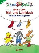 Cover-Bild zu Loewe Lernen und Rätseln (Hrsg.): LernSpielZwerge - Mein dicker Mal- und Lernblock für den Kindergarten