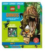 Cover-Bild zu LEGO®: Dinos Das große LEGO® Abenteuer für Dino-Fans (Lesen, Lernen, Spielen) von Panini