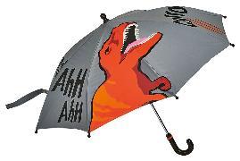 Cover-Bild zu Reflektierender Regenschirm T-Rex