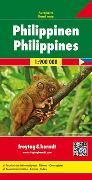 Cover-Bild zu Freytag-Berndt und Artaria KG (Hrsg.): Philippinen, Autokarte 1:900.000. 1:900'000