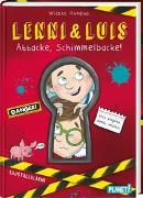 Cover-Bild zu Lenni und Luis 1: Attacke, Schimmelbacke!   Unterhaltsames Kinderbuch mit vielen Bildern, spannend & witzig, ab 8 Jahren, ideal auch als Klassenlektüre von Rhodius, Wiebke