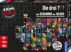Cover-Bild zu Krimi-Puzzle: Die drei ??? - Das Geheimnis der Bilder