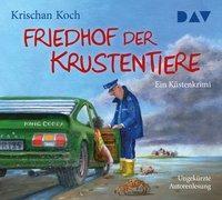 Cover-Bild zu Koch, Krischan: Friedhof der Krustentiere. Ein Küstenkrimi