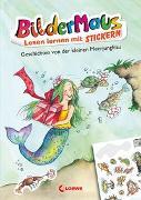 Cover-Bild zu Färber, Werner: Bildermaus - Lesen lernen mit Stickern - Geschichten von der kleinen Meerjungfrau