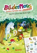 Cover-Bild zu Färber, Werner: Bildermaus - Lesen lernen mit Stickern - Geschichten aus dem Zauberwald