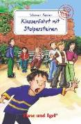 Cover-Bild zu Färber, Werner: Klassenfahrt mit Stolpersteinen. Schulausgabe