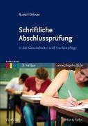Cover-Bild zu Schriftliche Abschlussprüfung von Driever, Rudolf