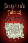 Cover-Bild zu eBook Everyman's Talmud