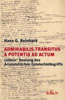 Cover-Bild zu Admirabilis transitus a potentia ad actum