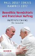 Cover-Bild zu Benedikts Vermächtnis und Franziskus`Auftrag (eBook) von Cordes, Paul Josef