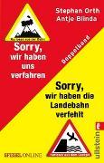 Cover-Bild zu Blinda, Antje: »Sorry, wir haben die Landebahn verfehlt« & »Sorry, wir haben uns verfahren«