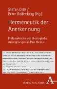 Cover-Bild zu Orth, Stefan (Hrsg.): Hermeneutik der Anerkennung (eBook)