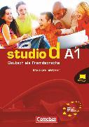 Cover-Bild zu Studio d, Deutsch als Fremdsprache, Grundstufe, A1: Gesamtband, Interaktive Tafelbilder für Whiteboard und Beamer, DVD-ROM