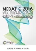 Cover-Bild zu MedAT-H 2016 - Die Simulation von Hetzel, Alexander
