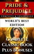 Cover-Bild zu Pride and Prejudice - World's Best Edition (eBook) von Austen, Jane