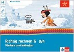 Cover-Bild zu Mein Indianerheft. Richtig rechnen G. Fördern und Inklusion. Arbeitsheft 3.-4. Schuljahr