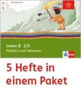 Cover-Bild zu Mein Indianerheft. Lesen B. Fördern und Inklusion. Arbeitsheft Klasse 2/3 (5-er Paket)