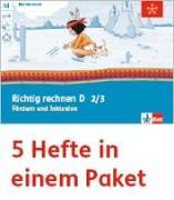 Cover-Bild zu Mein Indianerheft. Richtig rechnen D. Fördern und Inklusion. Arbeitsheft Klasse 2/3 (5-er Paket)