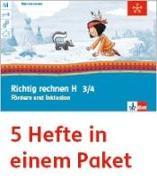 Cover-Bild zu Mein Indianerheft. Richtig rechnen H. Fördern und Inklusion. Arbeitsheft Klasse 4 (5-er Paket)