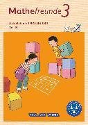 Cover-Bild zu Mathefreunde, Ausgabe Nord/Süd 2015, 3. Schuljahr, Arbeitsbuch Inklusion - Teil A und B von Franz, Petra