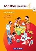 Cover-Bild zu Mathefreunde, Ausgabe Nord 2010 (Berlin, Brandenburg, Mecklenburg-Vorpommern, Sachsen-Anhalt), 4. Schuljahr, Arbeitsheft von Elsner, Jana
