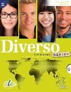 Cover-Bild zu Diverso B1 Básico Kursbuch mit MP3-CD von Alonso, Encina
