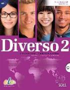 Cover-Bild zu Diverso 02 Kurs- und Arbeitsbuch mit MP3-CD von Alonso, Encina