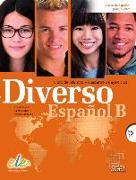 Cover-Bild zu Diverso Español B. Kurs- und Arbeitsbuch mit MP3-CD von Alonso, Encina