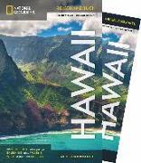 Cover-Bild zu NATIONAL GEOGRAPHIC Reisehandbuch Hawaii mit Maxi-Faltkarte von Rheker-Weigt, Sabine