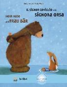 Cover-Bild zu Kempter, Christa: Herr Hase & Frau Bär. Kinderbuch Deutsch-Italienisch