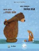 Cover-Bild zu Kempter, Christa: Herr Hase & Frau Bär. Kinderbuch Deutsch-Spanisch