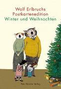 Cover-Bild zu Wolf Erlbruchs Postkartenedition Winter und Weihnachten von Erlbruch, Wolf (Illustr.)