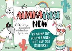 Cover-Bild zu Alpakalypse now - 20 chillige Postkarten mit frechen Sprüchen