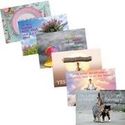Cover-Bild zu Weisheits-Postkarten-Set Querformat von Zintenz