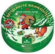 Cover-Bild zu Harder, Corinna: black stories Junior - Rätselhafte Weihnachten