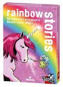 Cover-Bild zu Harder, Corinna: black stories Junior - rainbow stories