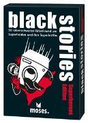 Cover-Bild zu Harder, Corinna: black stories - Superheroes Edition