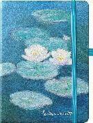 Cover-Bild zu Monet 16x22 cm - Blankbook - 192 blanko Seiten - Hardcover - gebunden von Monet, Claude