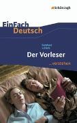 Cover-Bild zu Der Vorleser. EinFach Deutsch ...verstehen von Schlink, Bernhard