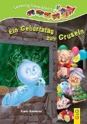 Cover-Bild zu Ammerer, Karin: LESEZUG/ Lese-Minis: Ein Geburtstag zum Gruseln