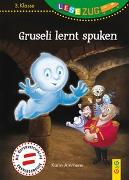 Cover-Bild zu Ammerer, Karin: LESEZUG/3. Klasse: Gruseli lernt spuken