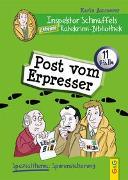 Cover-Bild zu Ammerer, Karin: Inspektor Schnüffels geheime Ratekrimi Bibliothek - Post vom Erpresser