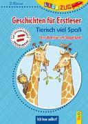 Cover-Bild zu Ammerer, Karin: LESEZUG DOPPELBAND/2. Klasse: Geschichten für Erstleser. Tierisch viel Spaß