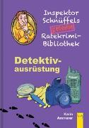 Cover-Bild zu Ammerer, Karin: Inspektor Schnüffels geheime Ratekrimi Bibliothek - Detektivausrüstung