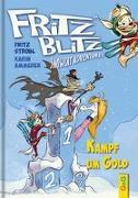 Cover-Bild zu Ammerer, Karin: Fritz Blitz - Kampf um Gold